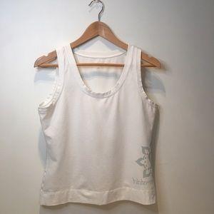 Lululemon athletics workout tank top,white, Medium
